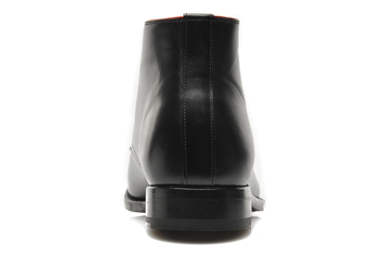 Zapatos con cordones Marvin&Co Luxe Welov Negro vista lateral derecha