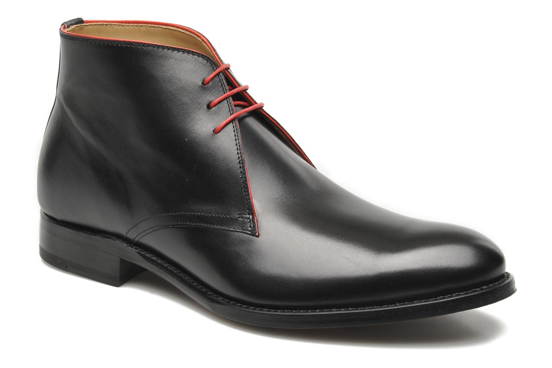 Zapatos con cordones Marvin&Co Luxe Welov Negro vista de detalle / par