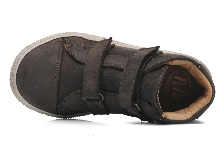 Chaussures à scratch PèPè Agostino Gris vue gauche
