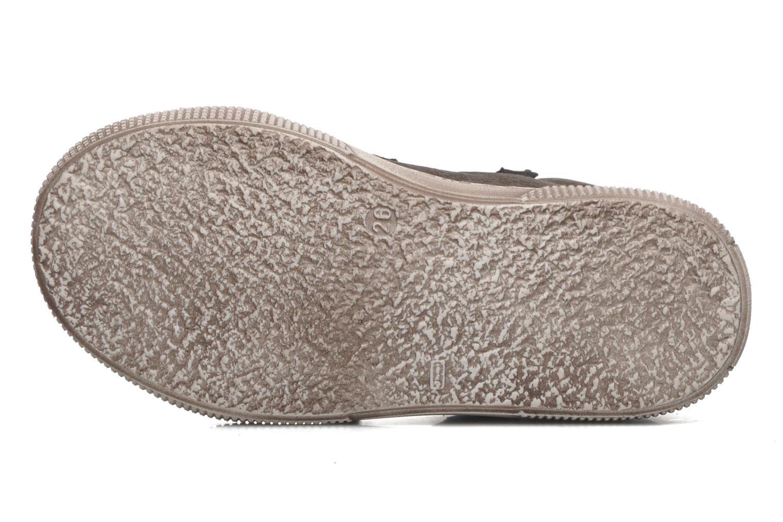 Chaussures à scratch PèPè Agostino Gris vue haut