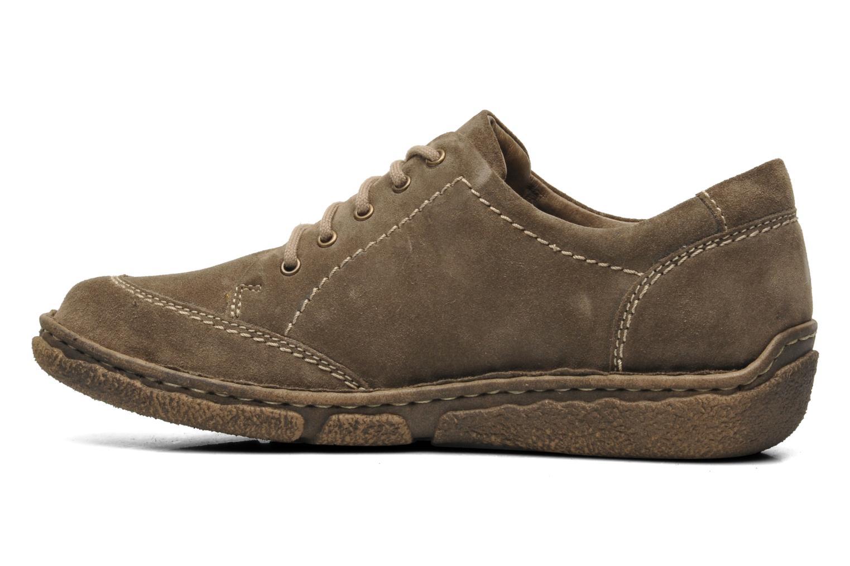 Chaussures à lacets Josef Seibel Neele 02 Marron vue face