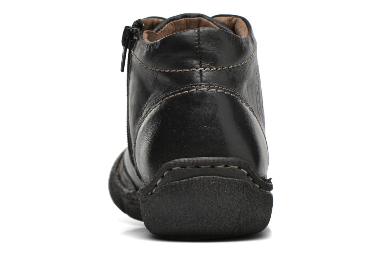 Chaussures à lacets Josef Seibel Neele 01 Noir vue droite