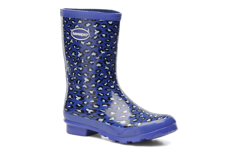 Helios Mid Animal Rain Boots Navy/blue
