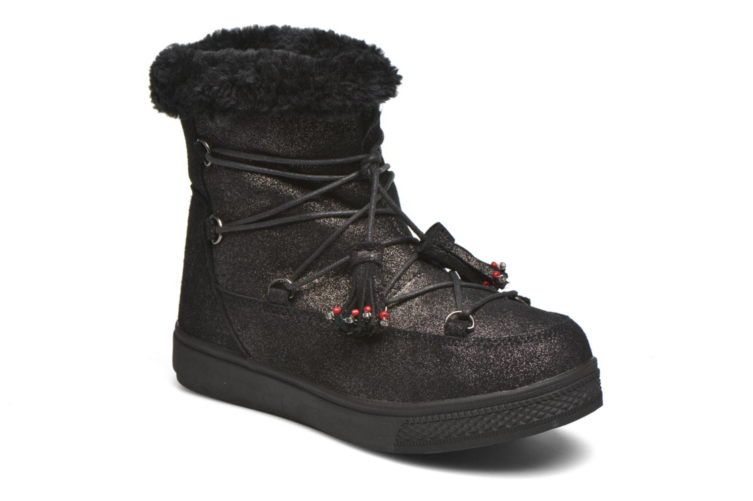 Boots en enkellaarsjes Colors of California Fiore Zwart detail