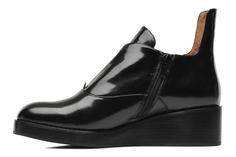 Bottines et boots Jeffrey Campbell Westerly Noir vue face
