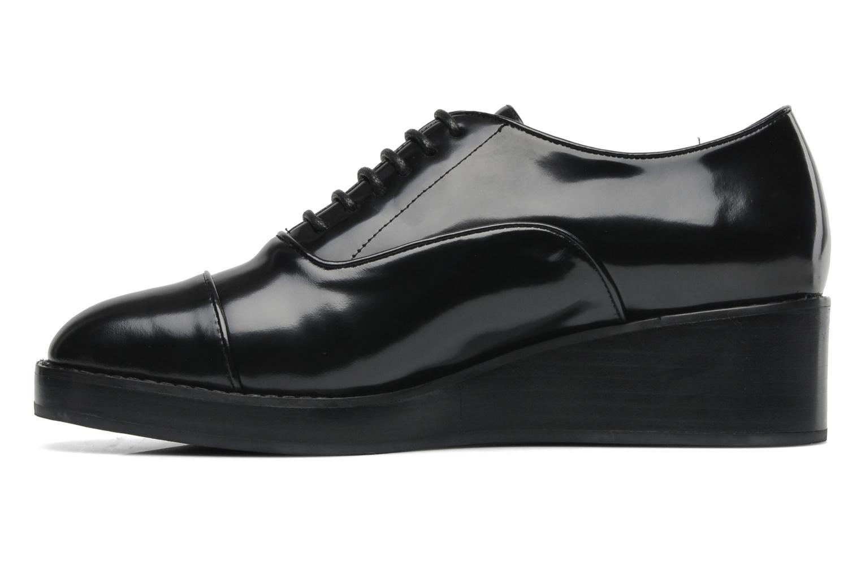 Chaussures à lacets Jeffrey Campbell Ernesto Noir vue face