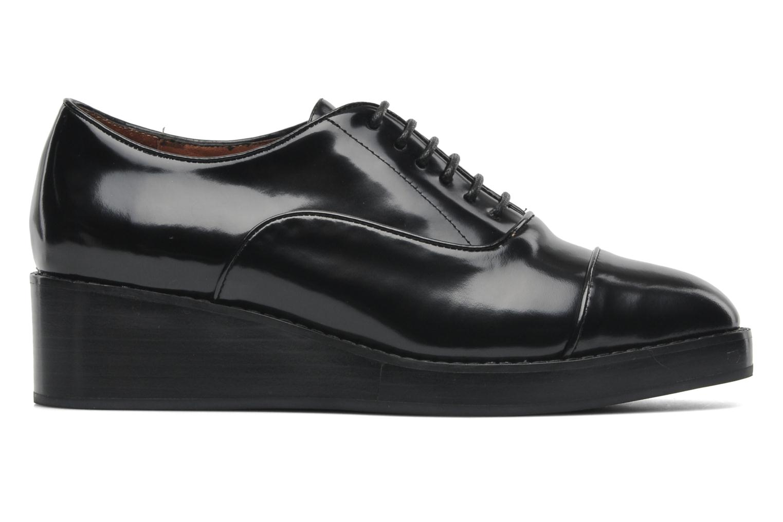 Chaussures à lacets Jeffrey Campbell Ernesto Noir vue derrière