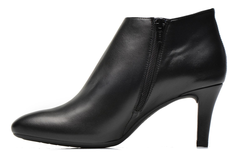 Boots en enkellaarsjes Unisa Limba Zwart voorkant