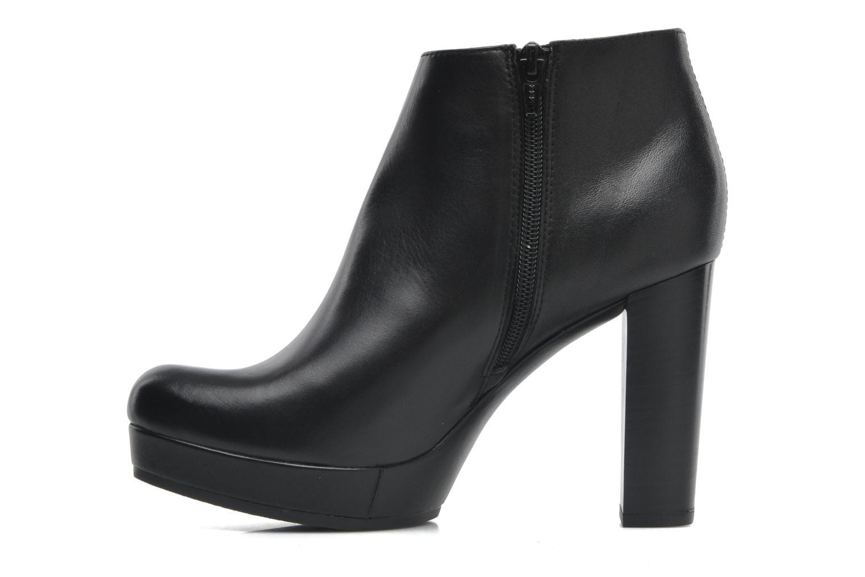 Boots en enkellaarsjes Unisa Medina Zwart voorkant