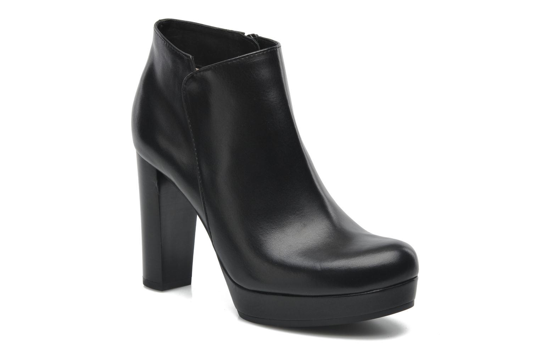 Boots en enkellaarsjes Unisa Medina Zwart detail