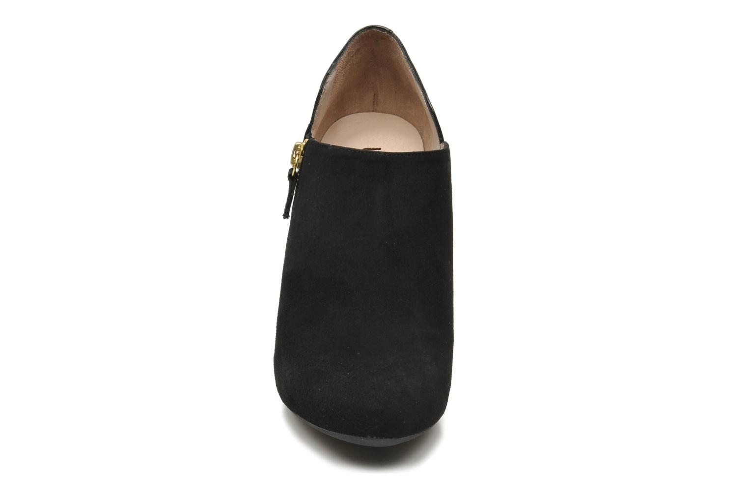 Pumin Kid Suede Nappa silk Black