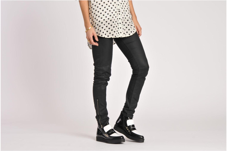 Stiefeletten & Boots MySuelly Charlie schwarz ansicht von unten / tasche getragen
