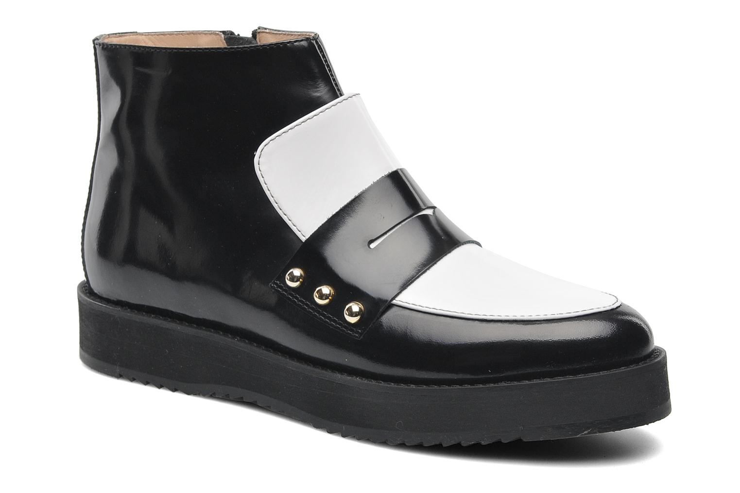 Ankle boots MySuelly Charlie Black detailed view/ Pair view