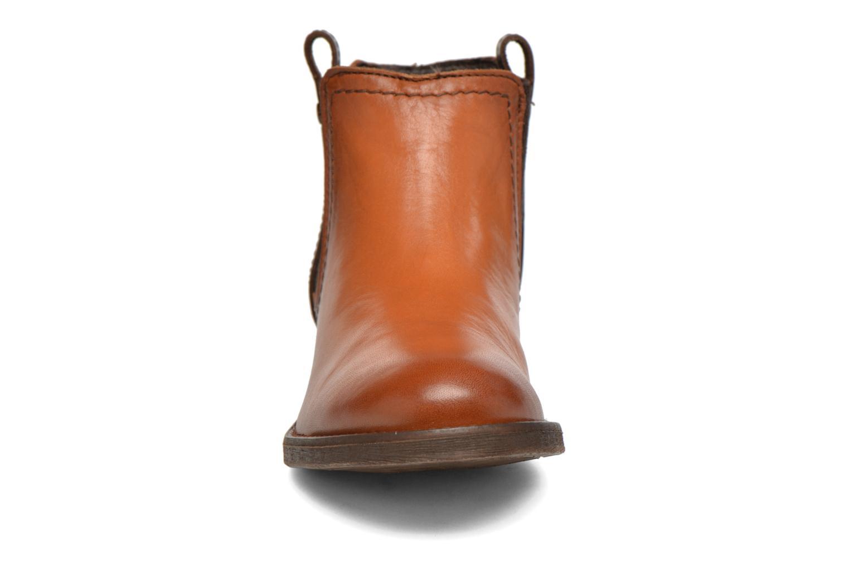 Stiefeletten & Boots Coco et abricot Canelle braun schuhe getragen