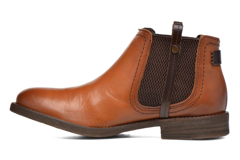 Boots en enkellaarsjes Coco et abricot Canelle Bruin voorkant