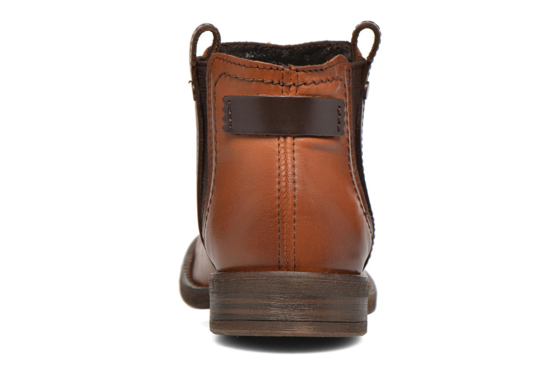Boots en enkellaarsjes Coco et abricot Canelle Bruin rechts