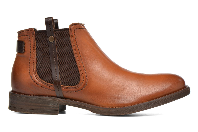 Boots en enkellaarsjes Coco et abricot Canelle Bruin achterkant