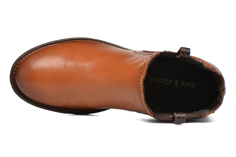 Boots en enkellaarsjes Coco et abricot Canelle Bruin links