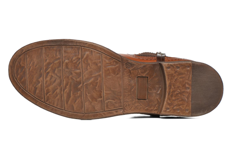 Boots en enkellaarsjes Coco et abricot Canelle Bruin boven