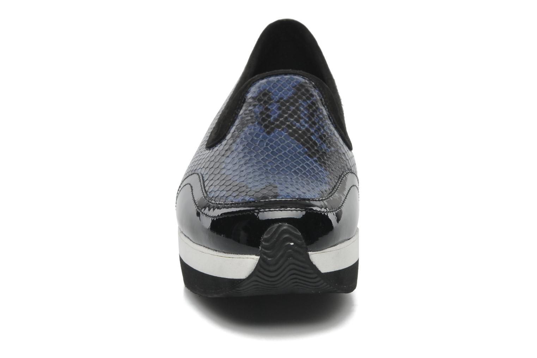 Mocassins Sonia Rykiel Lola Bleu vue portées chaussures
