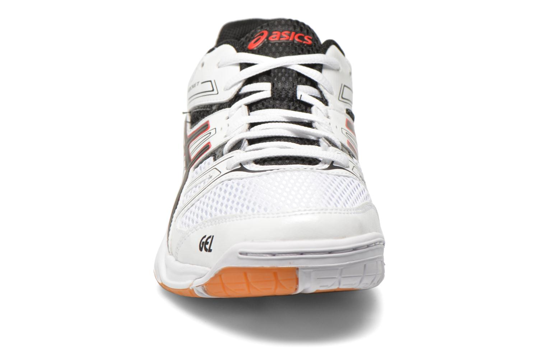 Chaussures de sport Asics Gel-Rocket 7 Blanc vue portées chaussures