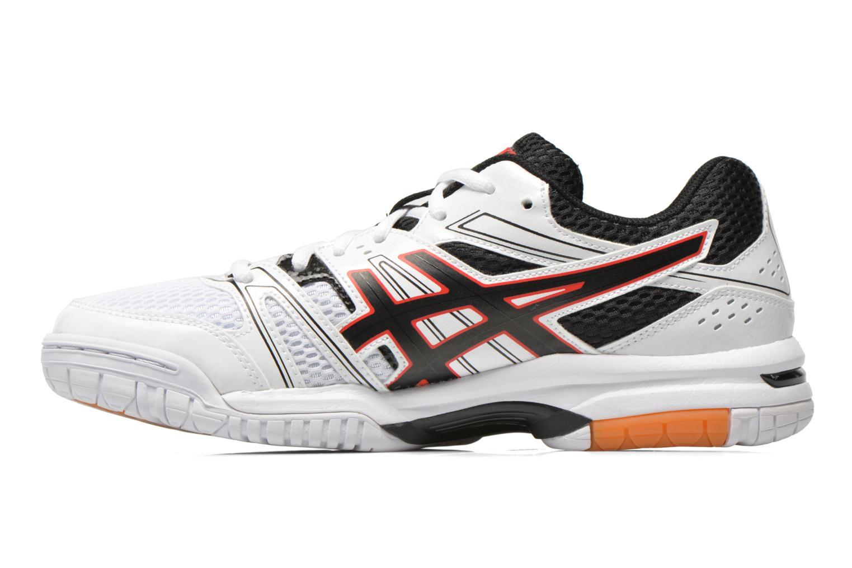 Gel-Rocket 7 White/Black/Vermilion