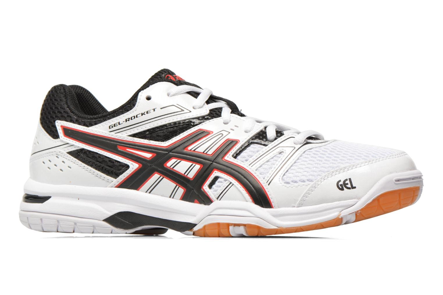 Gel-Rocket 7 White/Black/Vermilion