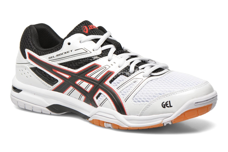 Chaussures de sport Asics Gel-Rocket 7 Blanc vue détail/paire