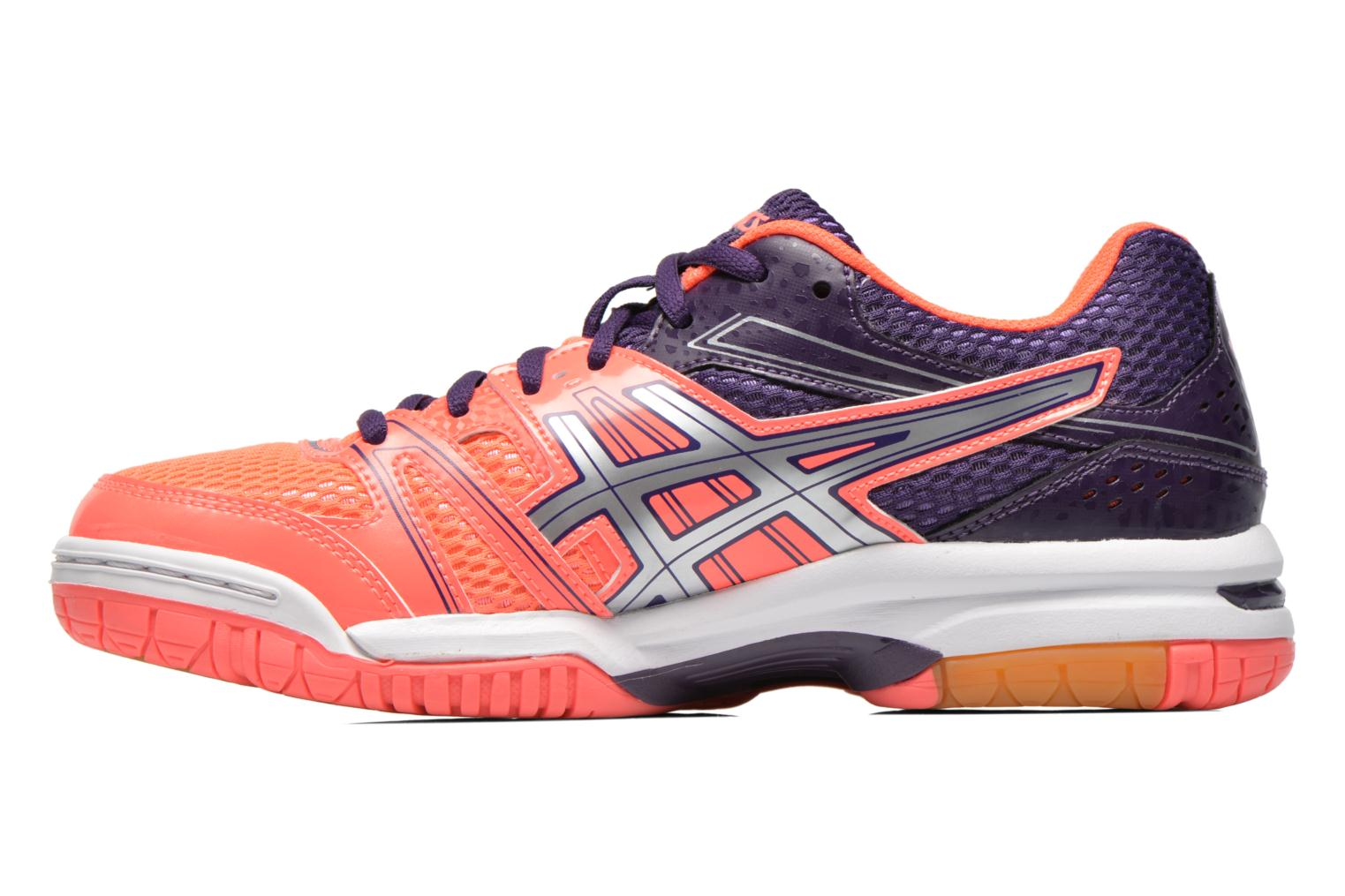 Chaussures de sport Asics Lady Gel-Rocket 7 Rose vue face