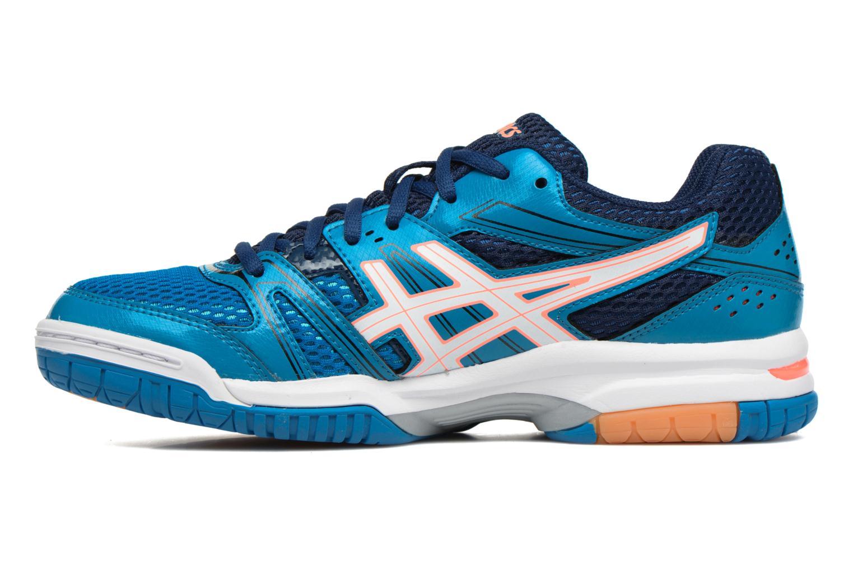 Chaussures de sport Asics Lady Gel-Rocket 7 Bleu vue face