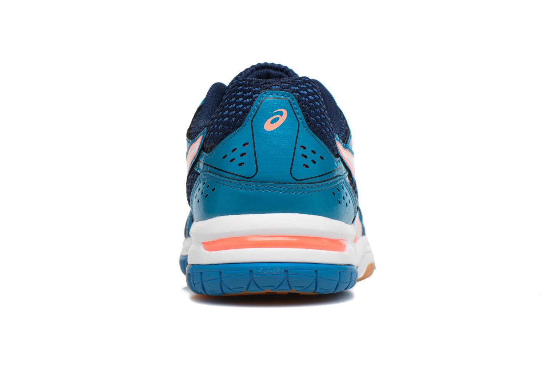 Chaussures de sport Asics Lady Gel-Rocket 7 Bleu vue droite