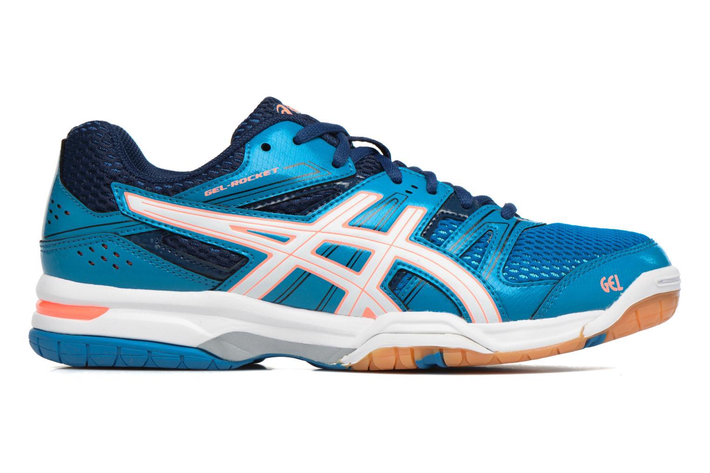 Chaussures de sport Asics Lady Gel-Rocket 7 Bleu vue derrière