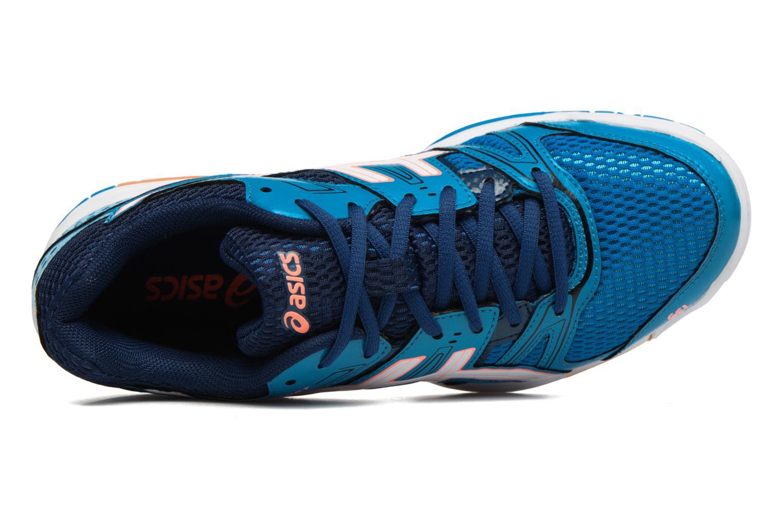 Chaussures de sport Asics Lady Gel-Rocket 7 Bleu vue gauche