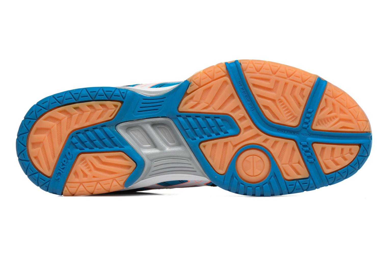 Chaussures de sport Asics Lady Gel-Rocket 7 Bleu vue haut