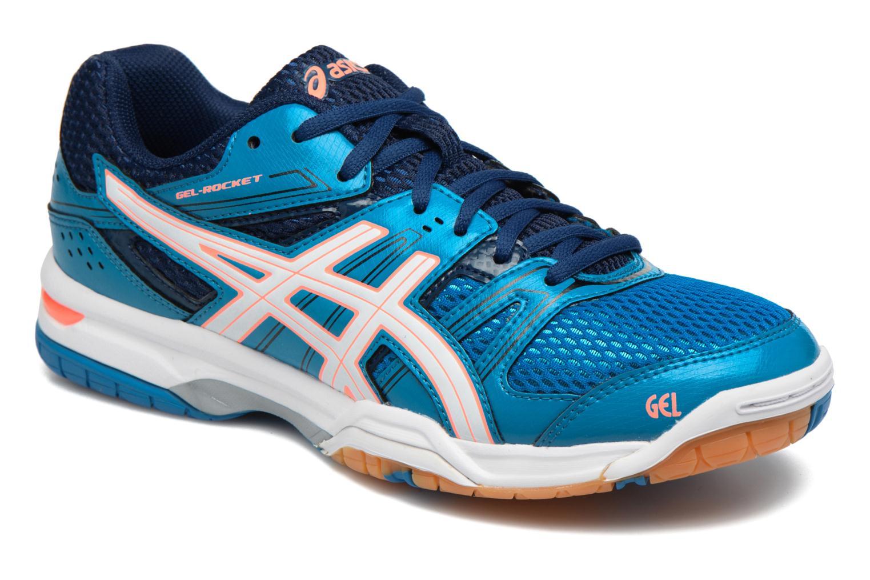 Chaussures de sport Asics Lady Gel-Rocket 7 Bleu vue détail/paire