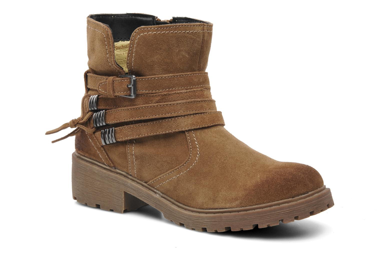 Boots en enkellaarsjes Dockers Holly V Bruin detail