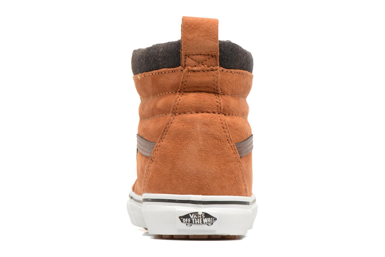 Sneakers Vans SK8-Hi MTE Marrone immagine destra