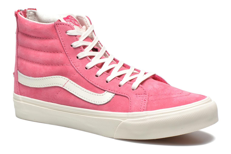 Sneaker Vans SK8-Hi Slim Zip rosa detaillierte ansicht/modell