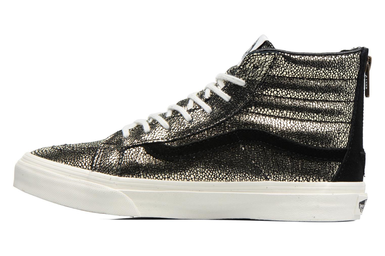 Sneaker Vans SK8-Hi Slim Zip gold/bronze ansicht von vorne