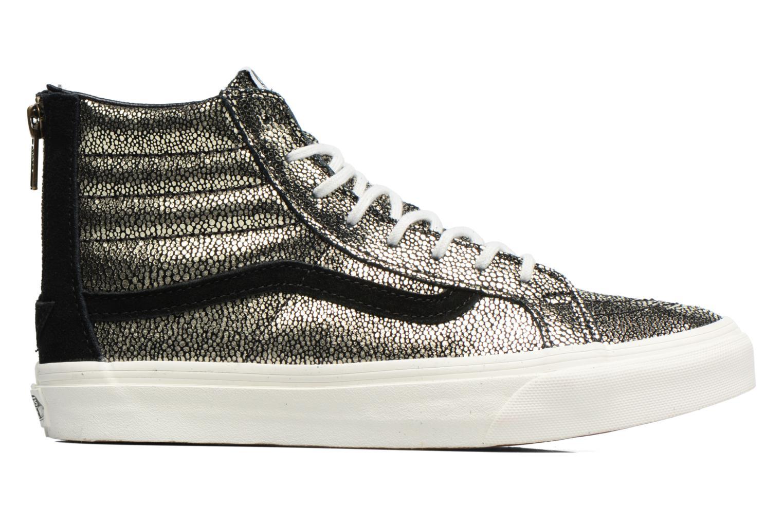 Sneaker Vans SK8-Hi Slim Zip gold/bronze ansicht von hinten