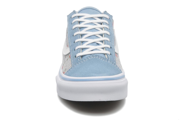 Baskets Vans Style 36 Slim W Bleu vue portées chaussures