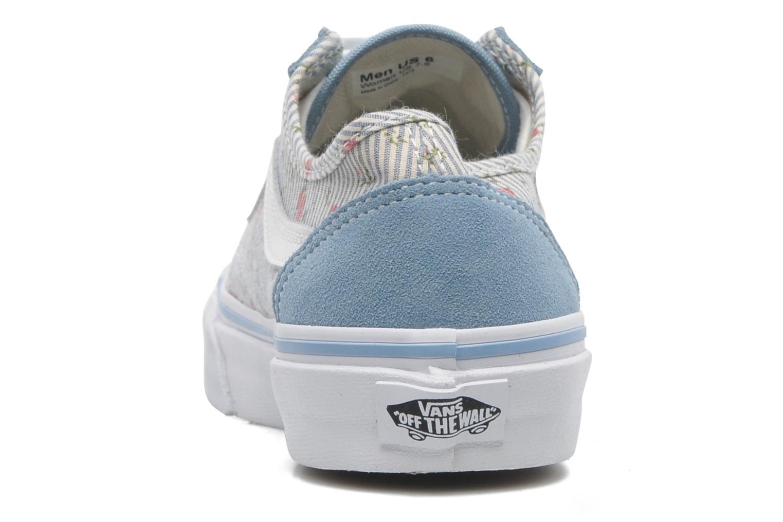 Baskets Vans Style 36 Slim W Bleu vue droite