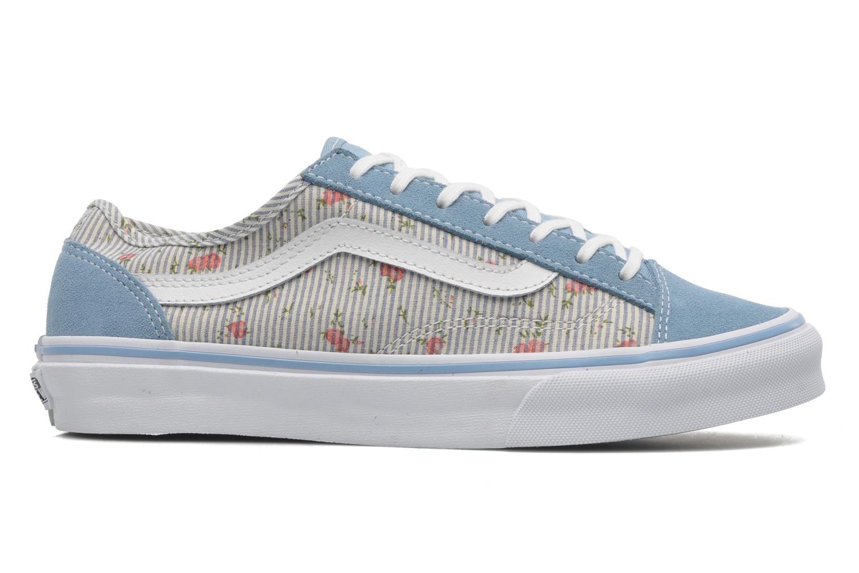 Sneakers Vans Style 36 Slim W Blauw achterkant