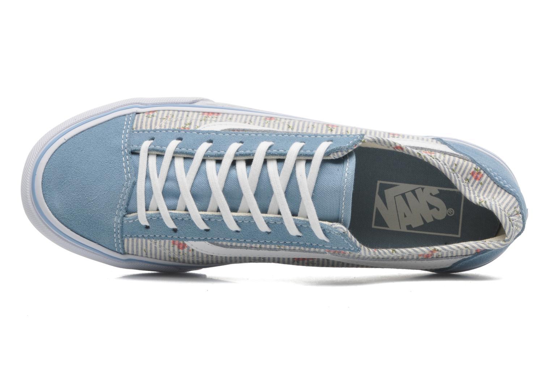 Baskets Vans Style 36 Slim W Bleu vue gauche