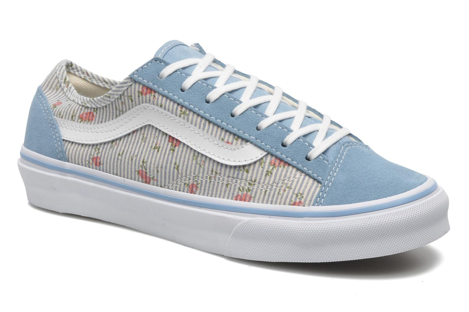 Style 36 Slim W (Floral/Stripes) Dusk Blue