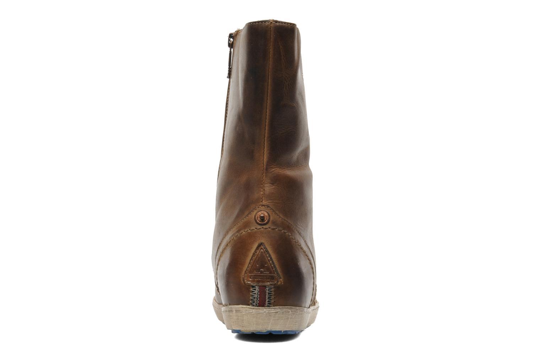 Stiefeletten & Boots Gaastra Atka braun ansicht von rechts