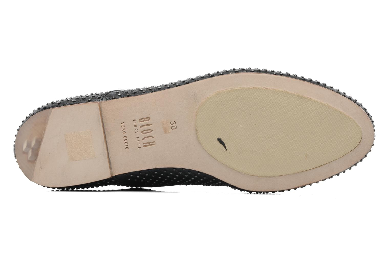 Chaussures à lacets Bloch Gwen Noir vue haut