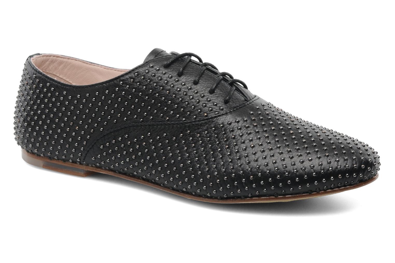 Chaussures à lacets Bloch Gwen Noir vue détail/paire