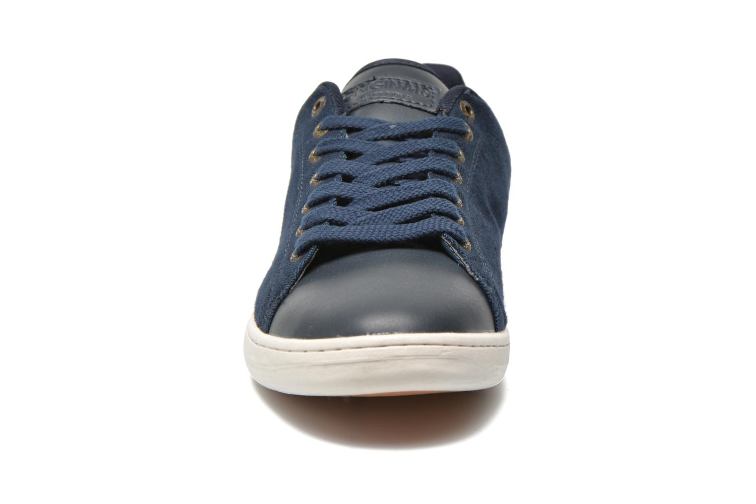 Sneaker Jack & Jones JJ Brooklyn Casual Shoe Org blau schuhe getragen