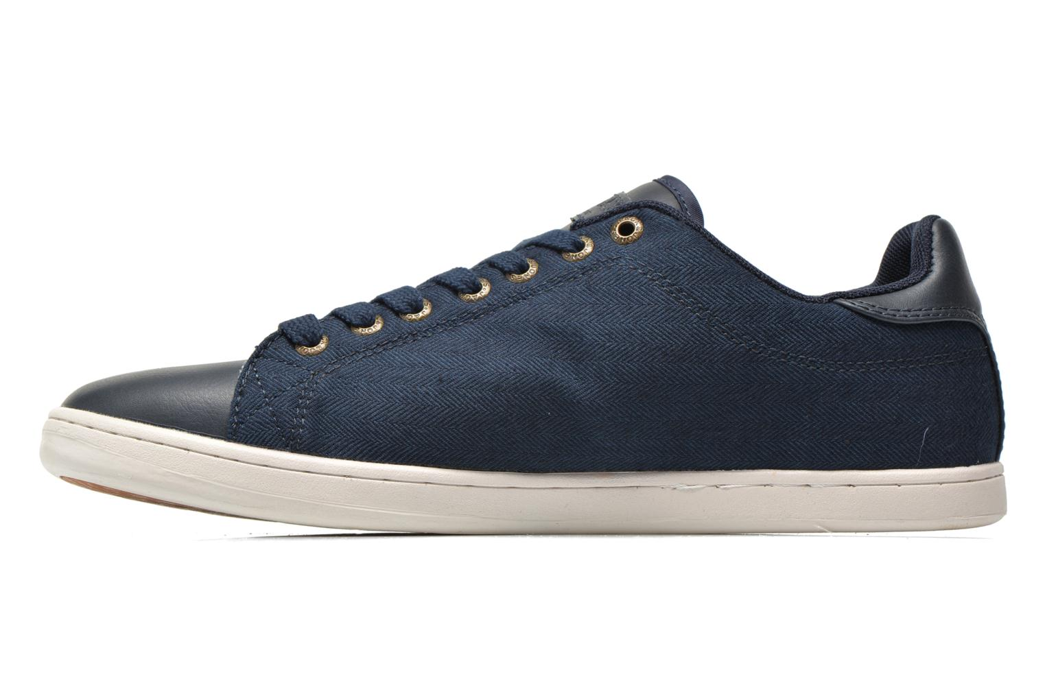 Sneaker Jack & Jones JJ Brooklyn Casual Shoe Org blau ansicht von vorne